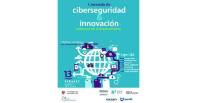 I Jornada Ciberseguridad, Innovación y Emprendimiento<br/><span style='color: #077dbc;font-size:65%;'>En la mañana del próximo 13 de mayo tendrá lugar en BREAKER la I Jornada de Ciberseguridad, Innovación y Emprendimiento, organizada por Telefónica y UGRemprendedora.</span>