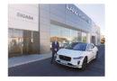 """Digasa nos descubre la """"espectacular sensación"""" de conducir el Jaguar I-Pace<br/><span style='color: #077dbc;font-size:65%;'>Las primeras unidades de este SUV han llegado al concesionario granadino</span>"""