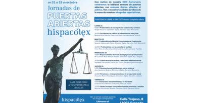 HispaColex celebra semana de Puertas Abiertas<br/><span style='color: #077dbc;font-size:65%;'>Del 21 al 25 de octubre, con motivo de su XXIX Aniversario</span>