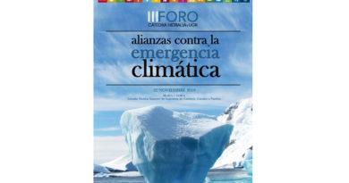 La Cátedra Hidralia+UGR busca en una jornada alianzas contra la Emergencia Climática