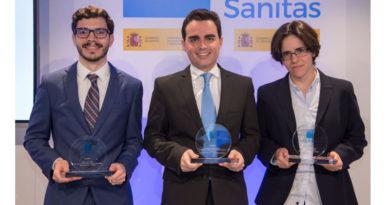 Álvaro González Cantero, dermatólogo por el Complejo Hospitalario Universitario de Toledo, recibe el Premio Sanitas MIR 2019
