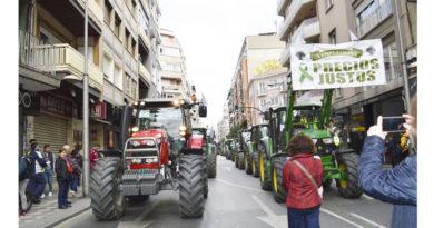 Granada: por unos precios justos para agricultores y ganaderos