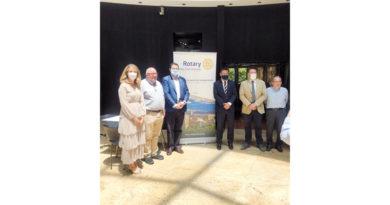 Rotary Club Granada realiza acciones solidarias a lo largo de la provincia<br/><span style='color: #077dbc;font-size:65%;'>Ha entregado material sanitario a hospitales y residencias, y decenas de kilos de comida </span>