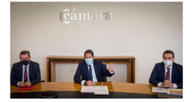Cámara Granada inyecta 5,2 millones de euros en ayudas empresariales durante el último trimestre del año<br/><span style='color: #077dbc;font-size:65%;'>La Diputación Provincial colaborará con la Cámara para llevar las ayudas hasta el último punto de la provincia</span>