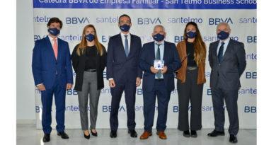 La empresa granadina SALIPLANT SEMILLEROS  recibe el premio de la  Cátedra BBVA de Empresa Familiar de San Telmo Business School<br/><span style='color: #077dbc;font-size:65%;'>En la actualidad, Saliplant Semilleros comercializa plantas hortícolas e injertos, con 8 centros de producción entre Granada y Málaga</span>