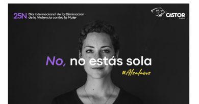 Castor sigue alzando la voz!<br/><span style='color: #077dbc;font-size:65%;'>#25N #AlzaLaVoz #NoEstásSola #NoTeCalles #ViolenciaDeGénero</span>