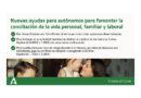Empleo convoca por primera vez ayudas para autónomos destinadas a facilitar la conciliación con 203.200 euros de presupuesto para Granada<br/><span style='color: #077dbc;font-size:65%;'>Los incentivos respaldan la contratación a desempleados en su negocio por riesgo durante el embarazo, en periodos de descanso por nacimiento, o para poder cuidar a menores de 3 años</span>