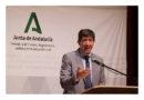 """Marín anuncia que la Junta aplazará dos años la deuda de los ayuntamientos con la administración andaluza<br/><span style='color: #077dbc;font-size:65%;'>El vicepresidente destaca que sin esa medida los municipios no podrían acceder a los fondos europeos, una """"oportunidad"""" para luchar contra la despoblación </span>"""